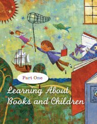 Learning About Books and Children