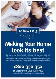 Making Your Home look its best - Andrew Craig Estate Agents