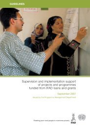 Supervision GuidelinesNENA - IFAD