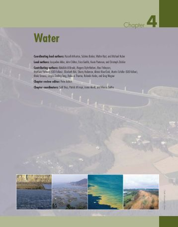 Chapter 4 - Water - UNEP