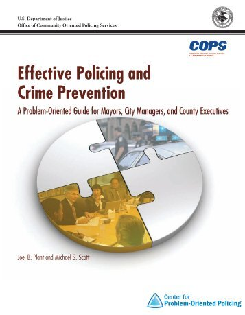 Effective Policing and Crime Prevention - Center for Problem ...