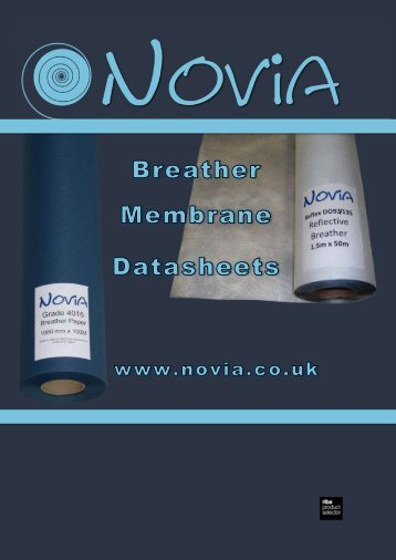 Novia Breather Membranes for Walls and Roofs - RIBA Product ...