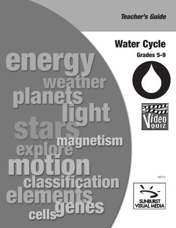 Water Cycle - Marcom Projects