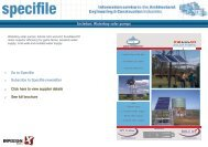 Incledon: Waterboy solar pumps - Specifile on-line