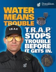 T.R.A.P. Breathers Product Brochure - Donaldson Company, Inc ...