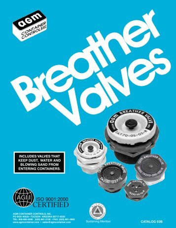 Breather Valves - AGM Container Controls, Inc.