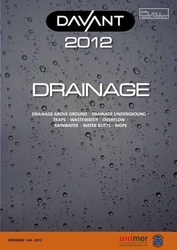 DRAINAGE - Davant