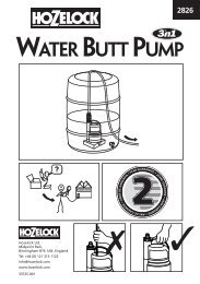 Water Butt Pump: 2826 (UK) - Hozelock