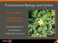 Puncturevine Biology and Control - Integrated Pest Management