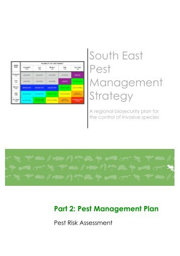 Pest Management Plan - South East Natural Resources ...