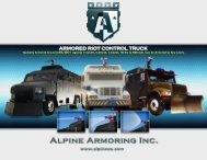 ARMORED RIOT CONTROL TRUCK - Alpine Armoring Inc.