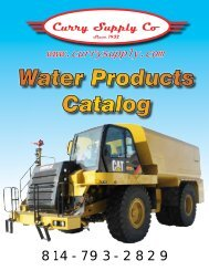 Water Products Catalog - Curry Supply