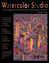 Watercolor Studio - Missouri Watercolor Society