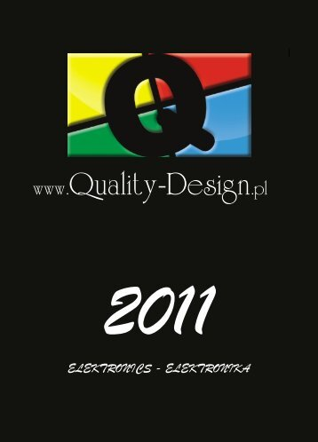 elektronics - elektronika - Quality Design - Studio Reklamy Wizualnej