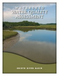 Edisto Watershed Water Quality Assessment document