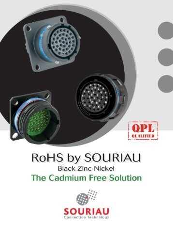 Products available through worldwide distribution network - Souriau