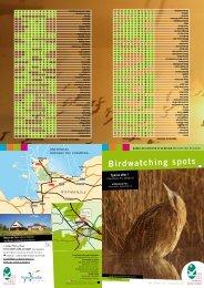Birdwatching spots - La Fédération des Parcs Naturels Régionaux ...