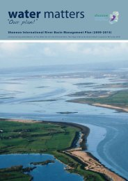 Water Matters: Our Plan! - Shannon River Basin District