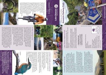 Walking and cycling Keswick Railway Path - Lake District National ...