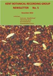 NEWSLETTER No. 5 - Botanical Society of the British Isles