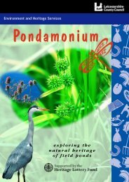 Pondamonium booklet - Leicestershire County Council