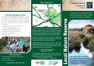Oughtonhead Common Leaflet - North Hertfordshire District Council