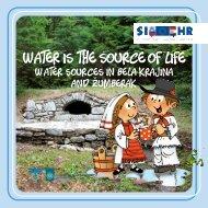 Water is the source of life - Zavod RS za varstvo narave