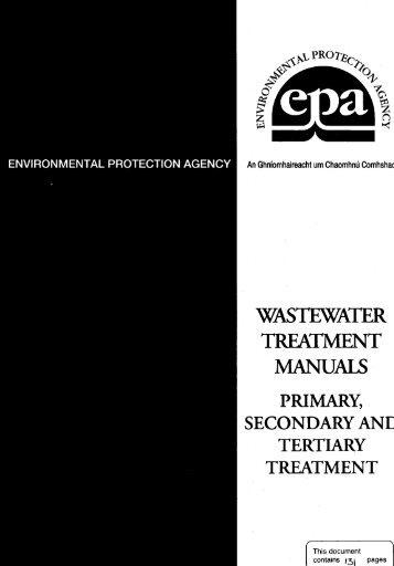 TREATMENT - Environmental Protection Agency