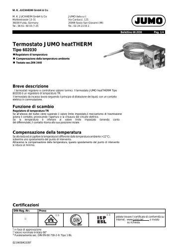 Termostato JUMO heatTHERM