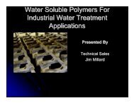 Water Soluble Polymers For Industrial Water Treatment ... - NAWT
