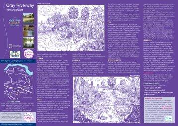 Cray Riverway walking leaflet - Bexley Council