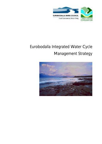 Eurobodalla Integrated Water Cycle Management Strategy