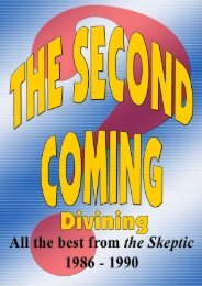 The Second Coming - Divining - Australian Skeptics
