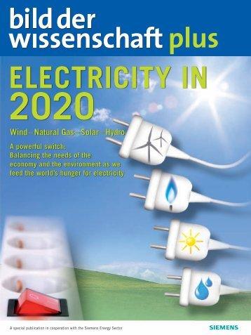 Bild der Wissenschaft: Electricity 2020 - Siemens