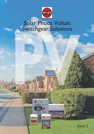 Solar Photo Voltaic Switchgear Solutions - TLC Electrical Supplies