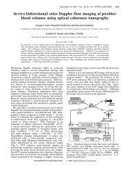In vivo bidirectional color Doppler flow imaging of - Department of ...