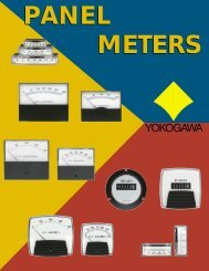 Panel Meters - Yokogawa
