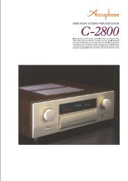 m Revolutionary AAVA volume control m Printed circuit ... - Accuphase