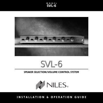 SVL-6 SVL-6 - Niles Audio