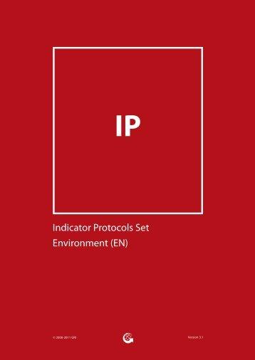 Indicator Protocols Set Environment (EN) - Global Reporting Initiative