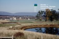 Ponds: planning design and construction - eXtension
