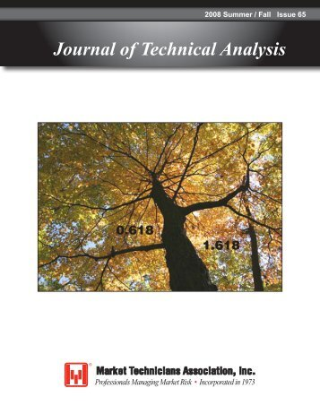 Journal of Technical Analysis - Market Technicians Association