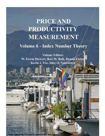 Price and productivity measurement: volume 6 ... - Index Measures