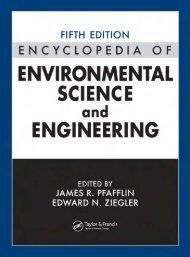 Encyclopedia of Environmental Science and Engineering, Volume I ...