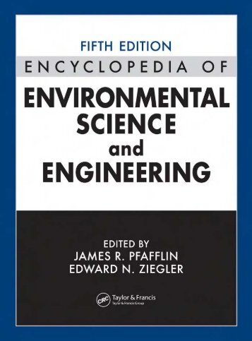 Encyclopedia of Environmental Science and Engineering, Volume I ...