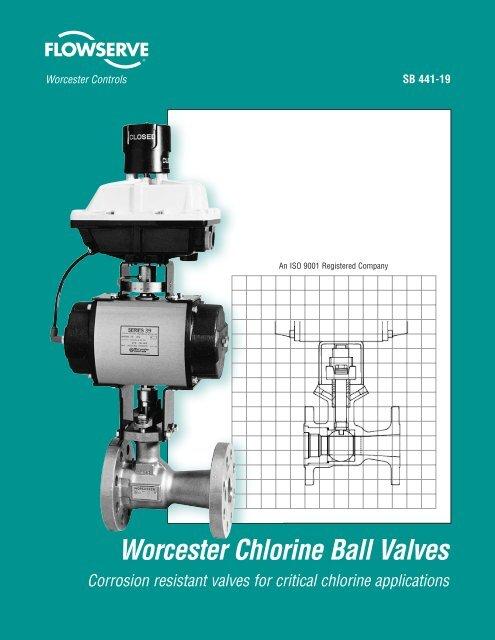 Worcester Chlorine Ball Valves - Flowserve Corporation