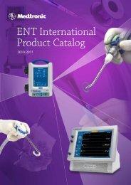 ENT International Product Catalog - Medtronic Navigation Россия