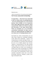 KV Zürich Business School: Neuer Jahresbericht erschienen