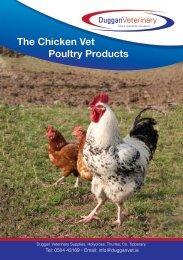 Chicken Brochure - Duggan Veterinary Supplies Ltd