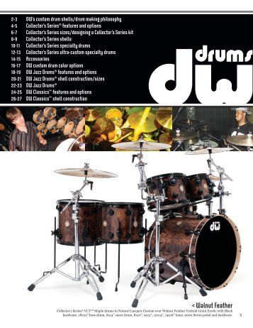 < Walnut Feather - dwdrums.cz